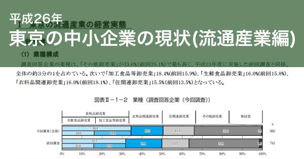 卸売業の経営実態|東京都 産業労働局 東京の中小企業の現状(流通産業編)を発行