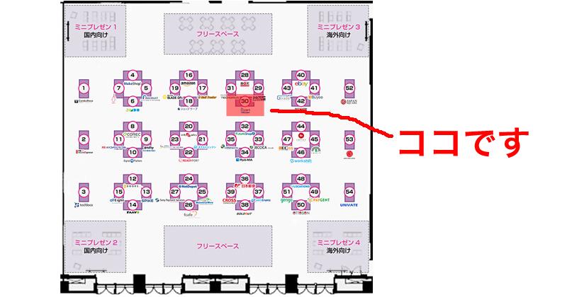 ECCamp2016BカートASPの出展ブース